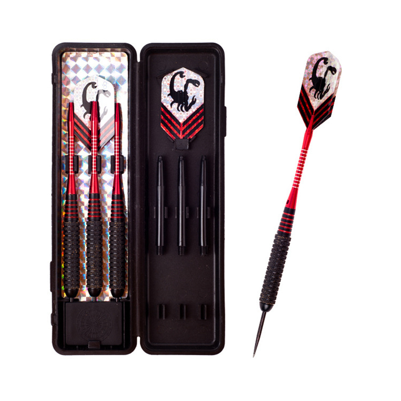 Pcs set With Box Hard Tip Metal Darts g Professional Darts Scorpion