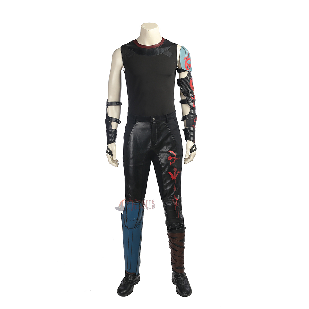 Athemis Thor Ragnarok Cosplay Costume Halloween custom made Dress High Quality
