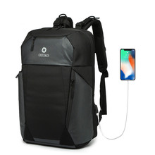 2019New USB Charging Laptop Backpack 15.6 inch Anti Theft Women Men School Bags For Teenage Girls Black College Travel Backpacks