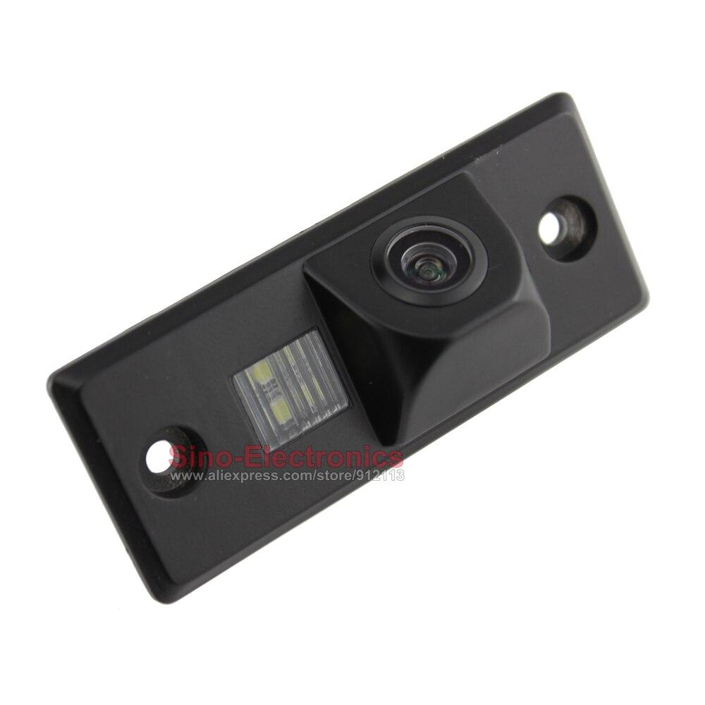 imágenes para CCD Cámara de Visión Trasera para VW Tiguan Touareg cámara de Marcha Atrás de Copia de seguridad cámara de visión nocturna Impermeable HD pantalla de línea de Estacionamiento