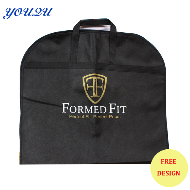 US $679 8 |Hot sell non woven suit cover non woven suit bag garment cover  non woven garment bag escrow accepted-in Shopping Bags from Luggage & Bags