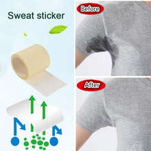 BellyLady 6 M/1 Roll Unisex Armpit Sweat Pads Thinness Breathable Perspiration Pads Transparent Deodorant Antiperspirant vichy antiperspirant deodorant 48