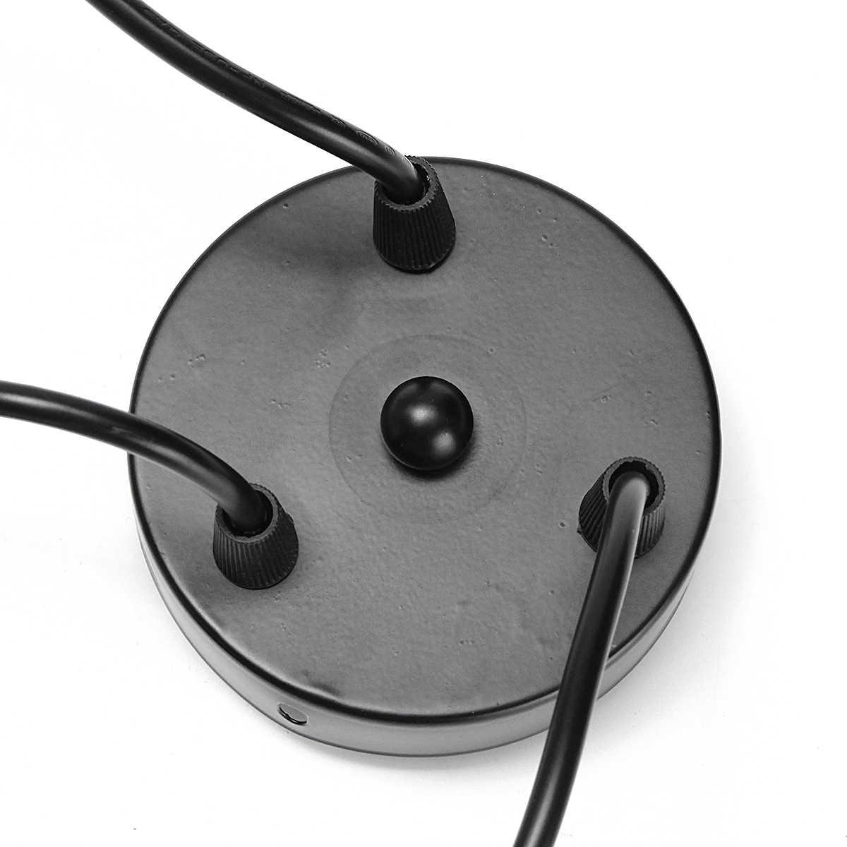 Smuxi Черный E27 3 головки подвесной светильник винтажный Промышленный Эдисон потолочный светильник обеденный светильник ing Ретро подвесной светильник