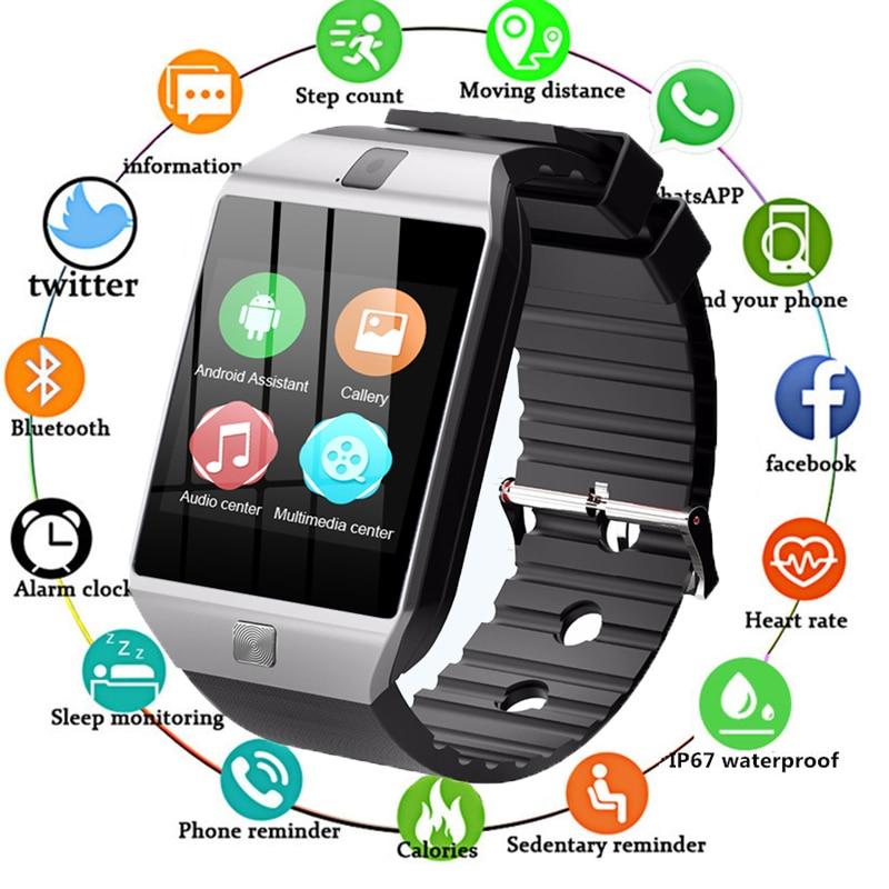 2019 QW09 Bluetooth montre intelligente mise à niveau Version Wifi 3G passomètre Smartwatch avec caméra prise en charge carte SIM Whatsapp Facebook