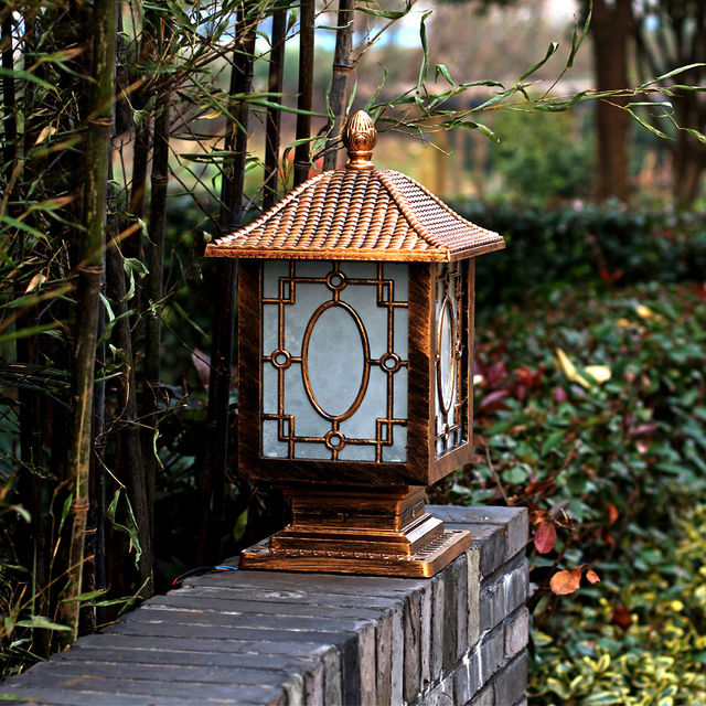 Outdoor Solar Post Kappe Beleuchtung Garten Lampe Garten Spot Licht