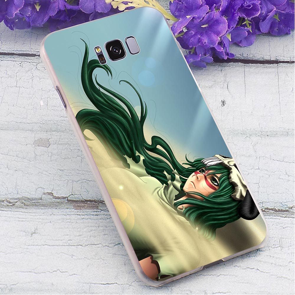 Bleach Hard Case for Samsung Galaxy S7 Edge Print Phone Cover for Samsung Galaxy S6 S7 Edge S8 S9 Plus S10 Back Covers in Fitted Cases from Cellphones Telecommunications