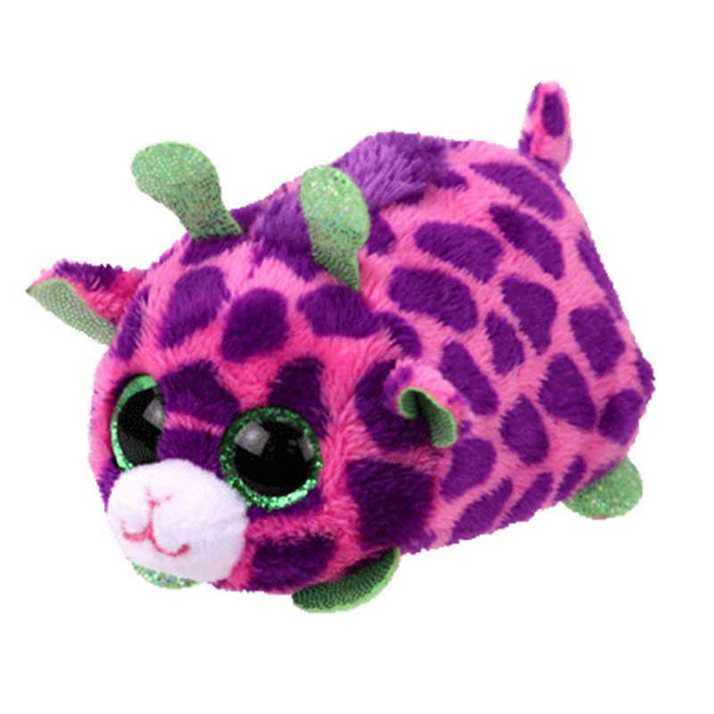 Ty бини Боос 10 см Единорог Сова Золотая рыбка Медведь Пингвин черепаха Обезьяна Собака Фламинго плюшевое с большими глазами чучело животное кукла игрушка