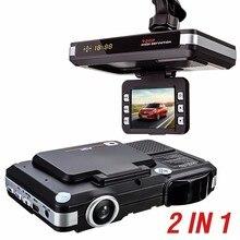 Новые МФУ 5MP Камера Автомобиля DVR Рекордер + Радар Лазерный Детектор скорости Trafic Оповещения Английский Русский Ночного Видения