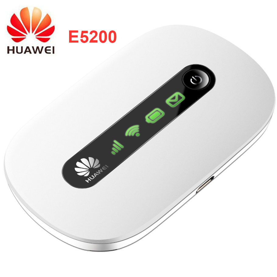huawei E5200 Wireless router Hspa pocket Wifi 21mbps (3G in