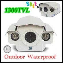 Новый 1300tvl видеонаблюдения камера 1/3 sony ccd открытый водонепроницаемый ик hd камеры наблюдения w92-tnb-1200 с массива привело 50 м ночь видение
