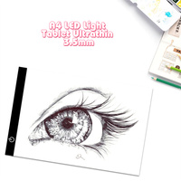 Ultra Thin A4 LED Light Dimmable Tablet Pad Diamond Embroidery Diamond Painting Best Partner Sets Apply
