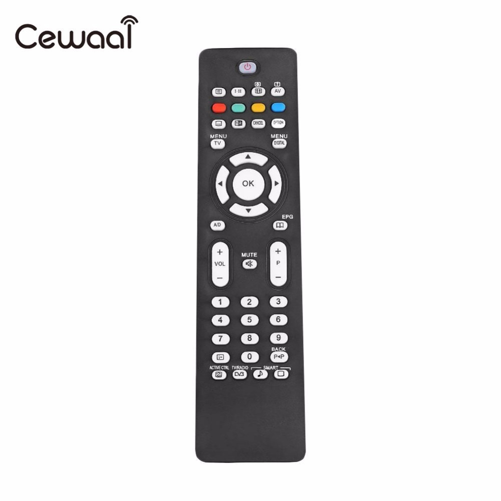 Cewaal Replacement TV Remote Control 32PFL5522D/05 For Philips