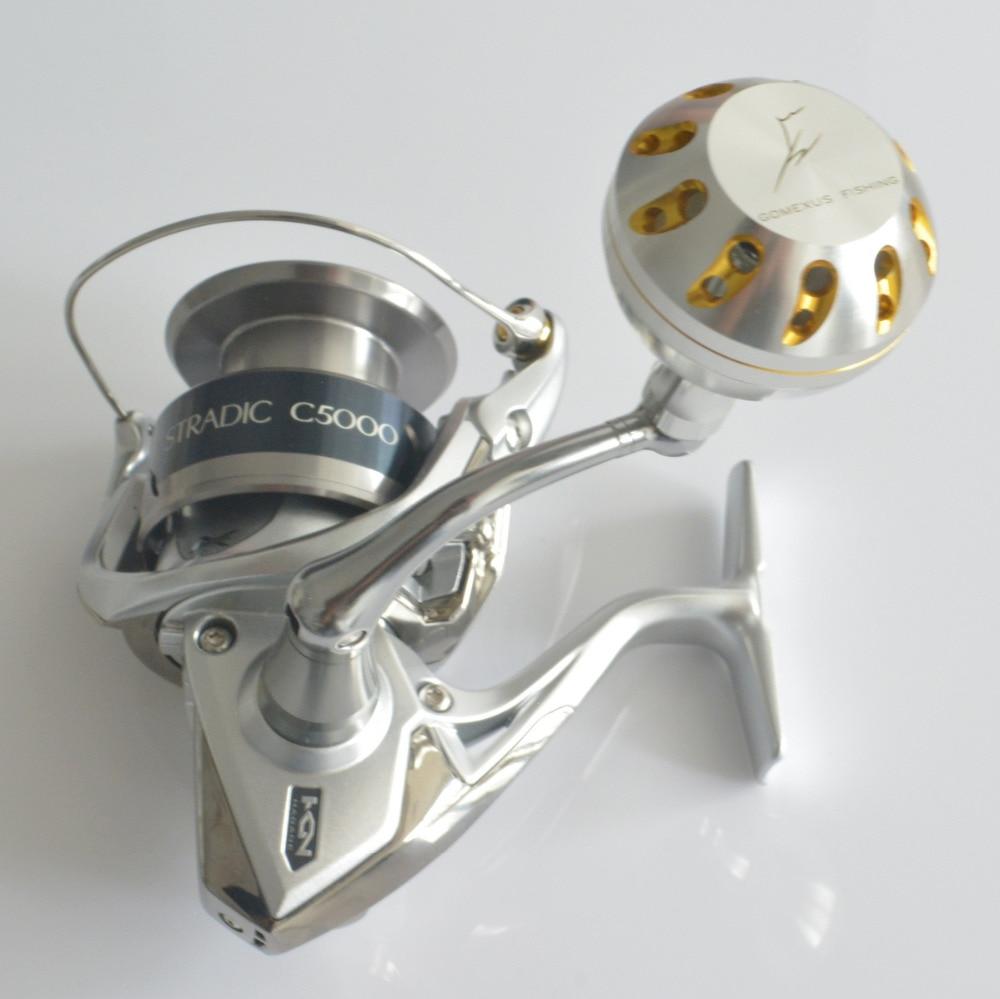 Handle w//Knob for Shimano Saragosa 14000 /& 18000 Spinning Reel