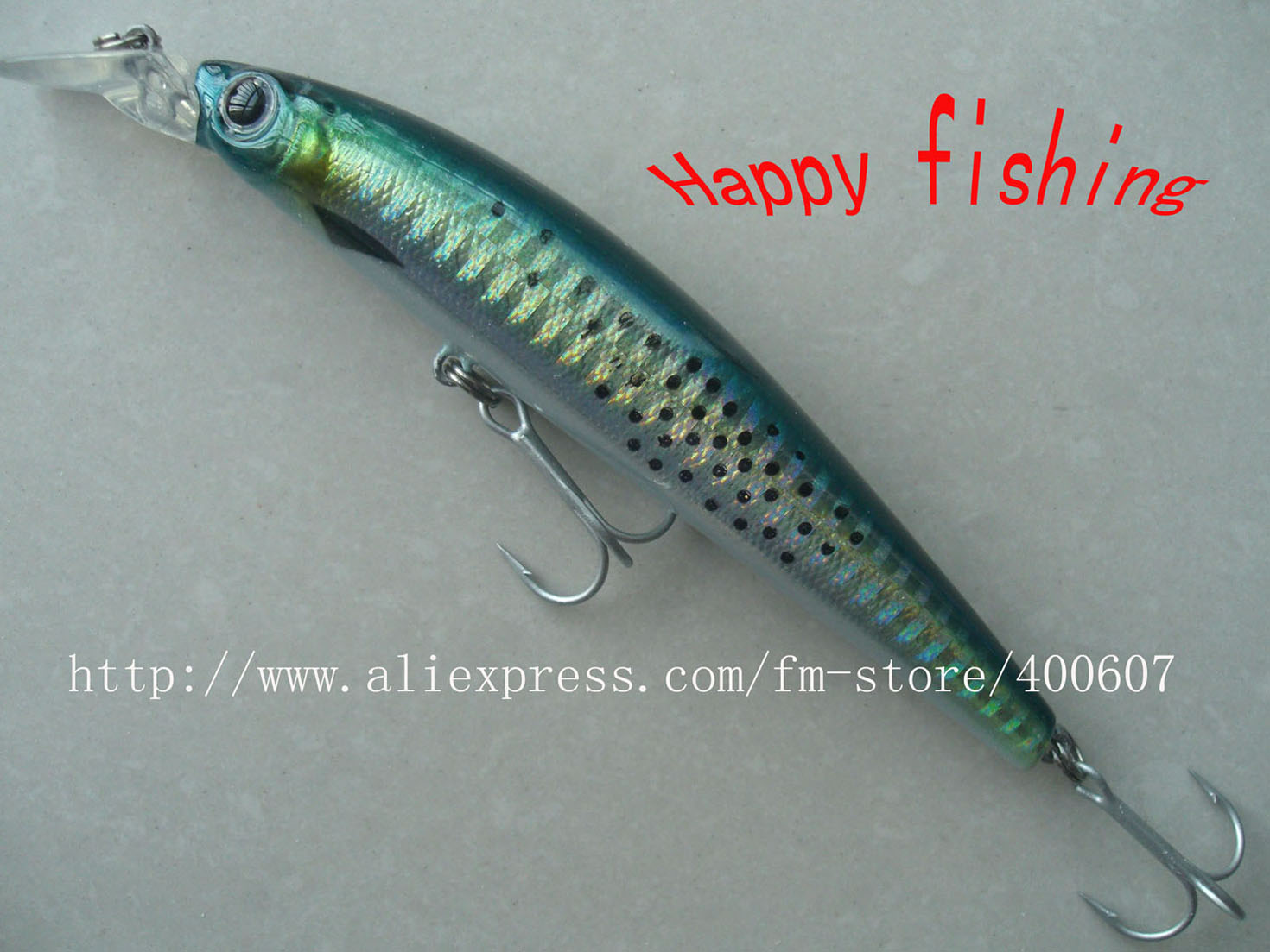 Japanese style bassterminator minnow fishing lure for Japanese fishing lures