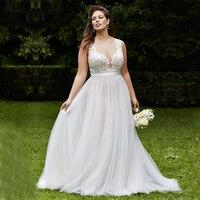 2016 New Elegant Covered Buttons Scoop Appliques Sleeveless Ivory Wedding Gowns vestido de noiva Cheap Garden Wedding Dresses