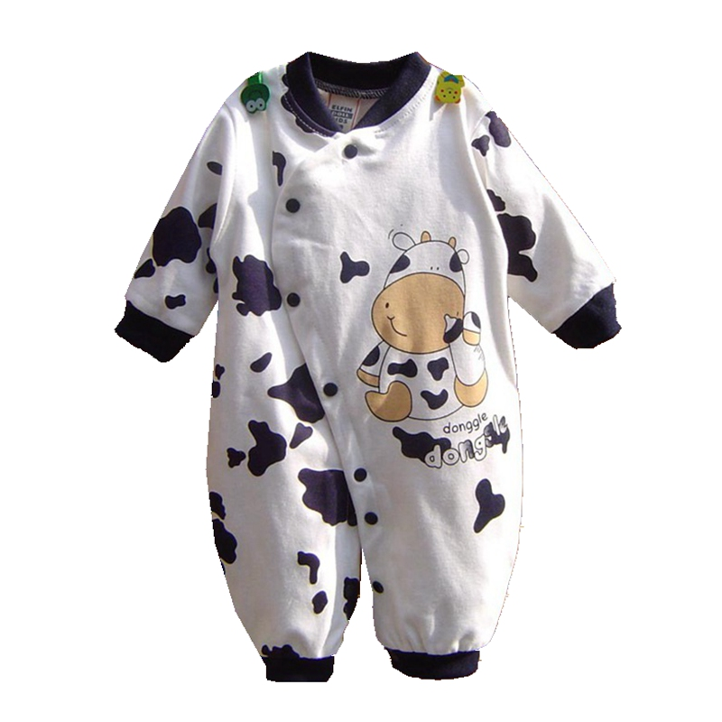Spring 2016 Navy Cow Baby Rompers Body Bebes Kids Jumpsuits Roupas De Bebe Menino Newborn Baby Boy Clothes Toddler Boys Clothing