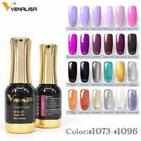 VENALISA une couche de couleur Gel peinture 12ml couleur laser CANNI conception d'art des ongles de haute qualité imbiber le vernis à ongles UV sans odeur