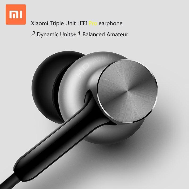 bilder für Neueste Ursprüngliche Xiaomi Mi Hybrid Pro Kopfhörer Hallo-Res Kreis Eisen Pro Dreibettzimmer Einheit Dual Dynamische Balanced armature-3 Mic Graphene