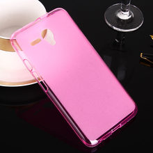 "For Alcatel pop 3 5.5 mobile phone protective case funda,for alcatel pop3 5.5"" sweety candy color tpu soft back cover guard(China)"