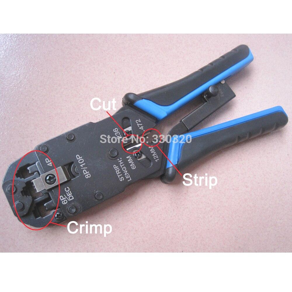 LT 200AR Rj45 Rj11 Rj12 Wire Lan Network Cable Crimper Crimp Pc Network Tool Stripper 10p/8p/6p/4p|rj11 rj45 converter|rj11 rj12|rj45 cord - title=