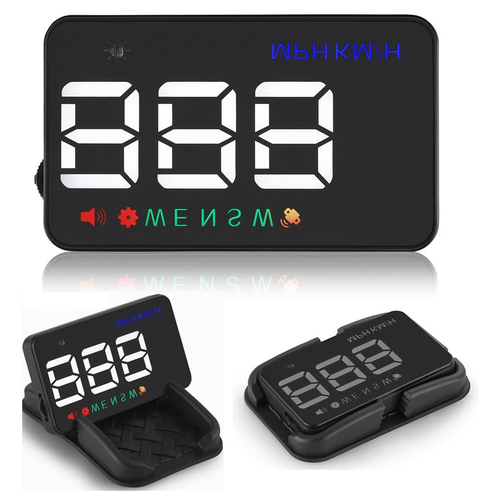 XYCING A5 HUD GPS Car Head Up Windուցադրել առջեւի - Ավտոմեքենաների էլեկտրոնիկա - Լուսանկար 1