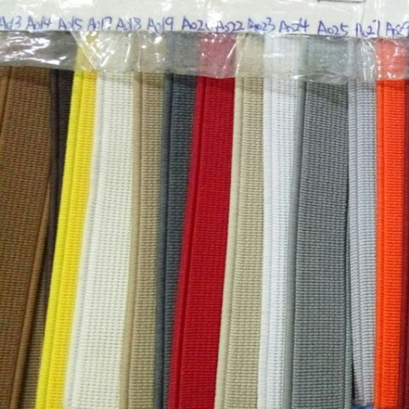 red/yellow/blue color high quality strong elastic webbing belt in stock for sale