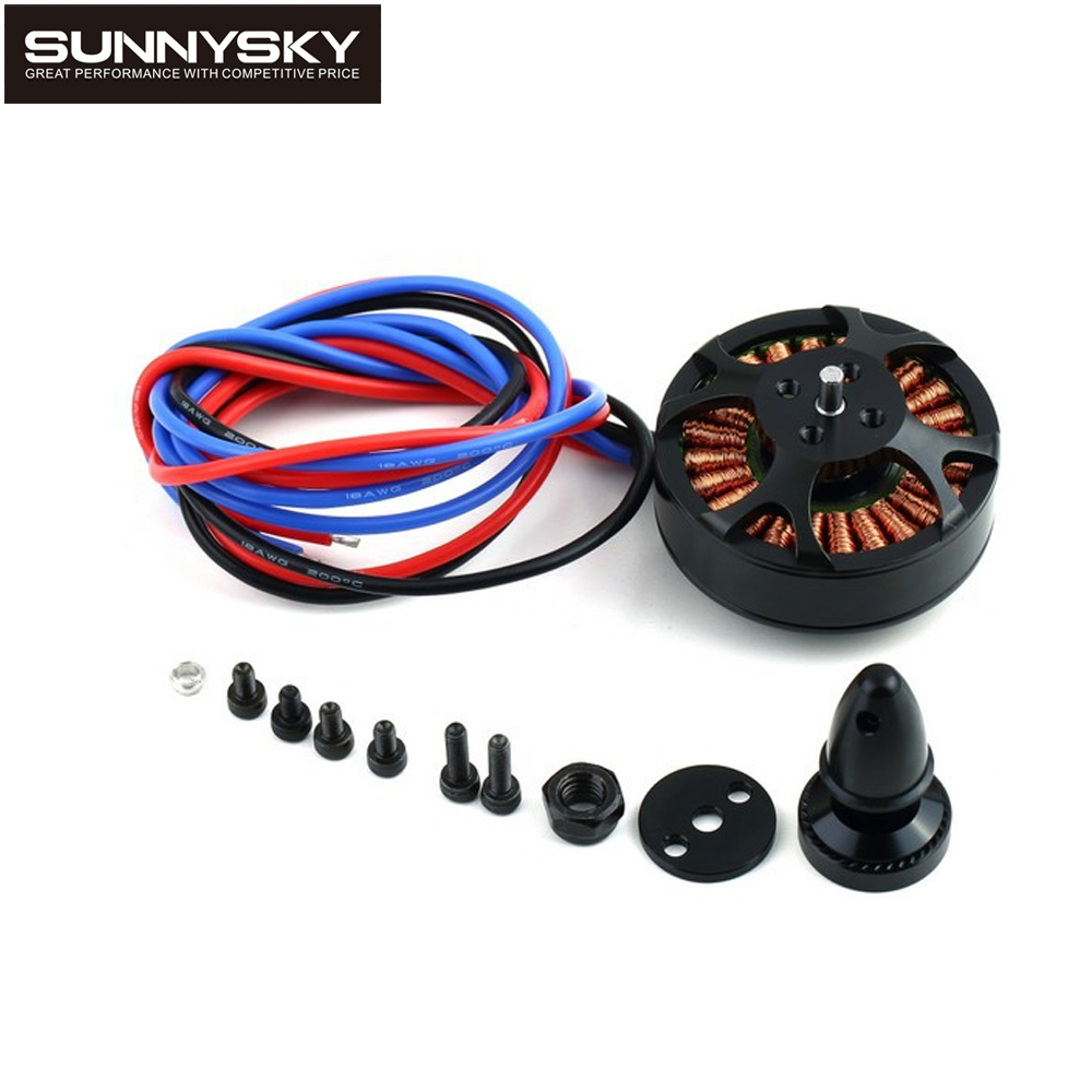 1pcs Sunnysky X4108S 380KV 480KV 600KV 690KV Outrunner Brushless Motor for Multi-rotor Aircraft multi-axis motor disc motor