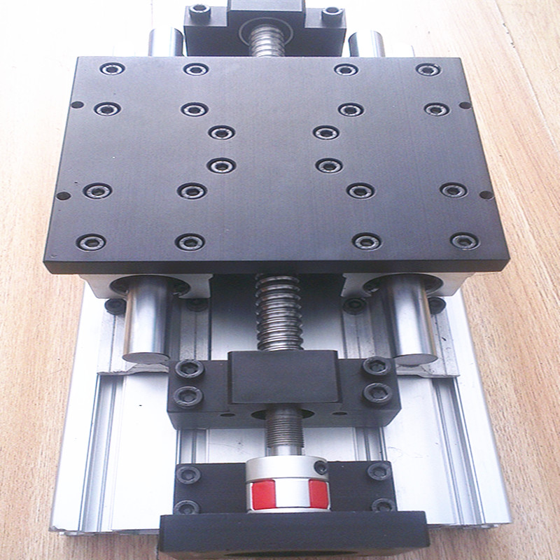 Slide / Table /CNC Module Of Linear Coordinate Travel Table SFU1605+BKBF12+SBR16-200/300/400/500/600mm LINEAR RAIL 15180 Profile