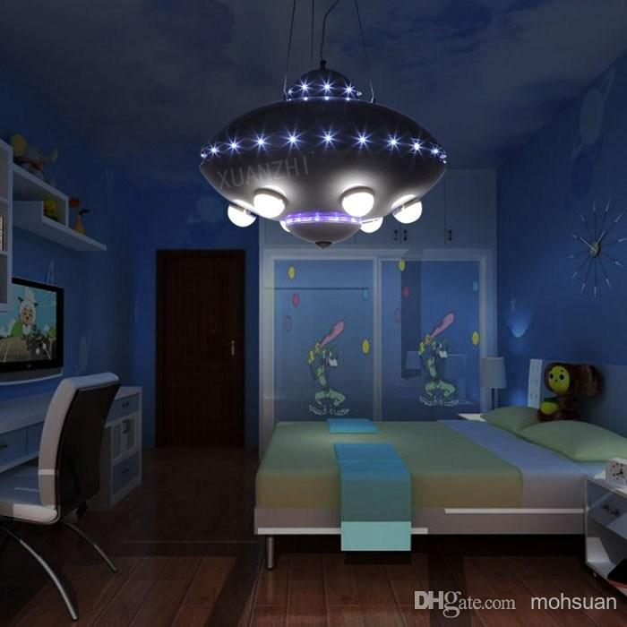 Superior UFO Aircraft Chandelier Boy Child Childrenu0027s Room Lamps Bedroom Lamps  Creative Cartoon Kids Room Lighting On Aliexpress.com | Alibaba Group