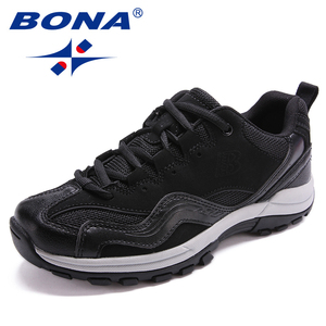 Image 3 - BONA คลาสสิกใหม่สไตล์ผู้หญิงเดินป่ารองเท้ากลางแจ้งรองเท้าวิ่ง Lace Up รองเท้าสบายจัดส่งฟรี