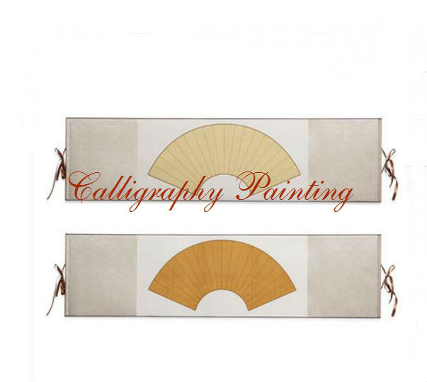 1pc Horizontal scroll blank Wall Hanging Scroll Rice Xuan Paper Ink Brush Calligraphy  1pc Horizontal scroll blank Wall Hanging Scroll Rice Xuan Paper Ink Brush Calligraphy
