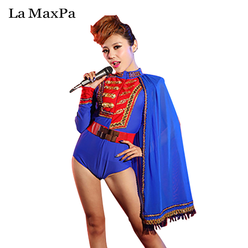 Fashion Jazz Dance Costume For Women Nightclub Rave Clothes Dj Ds Gogo Stage Costumes Pole Dance Performance Clothing Dc1602 Chinese Folk Dance