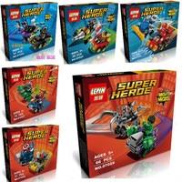 lepin super heroes mighty micros batman vs catwoman model