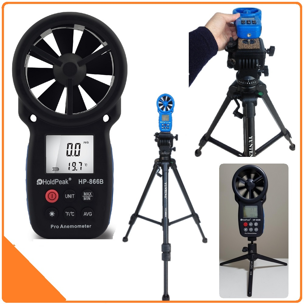 HOLDPEAK 866B Digital Anemometer THE BEST Wind Speed Meter Measures Wind Speed Temperature Wind Chill with Backlight chill n brazil the best of electro bossa and chill out remixes