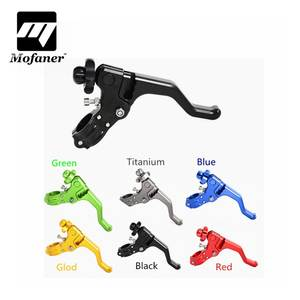 CNC Short Stunt Clutch Lever Perch Motorcycle Brake Clutch Levers For Honda CR80