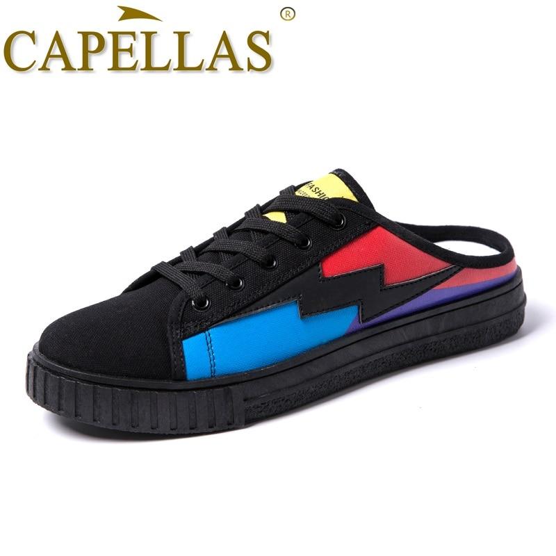 CAPELLAS Neue Ankunft Leinwand Schuhe Männer Freizeitschuhe Bequeme - Herrenschuhe - Foto 2