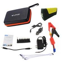 WUHAI dispositivo Original de la Marca Multi-función de Salto de Arranque Del Coche Auto 12 V banco de la Energía del Cargador de Batería de Emergencia para el Teléfono Tablet pc