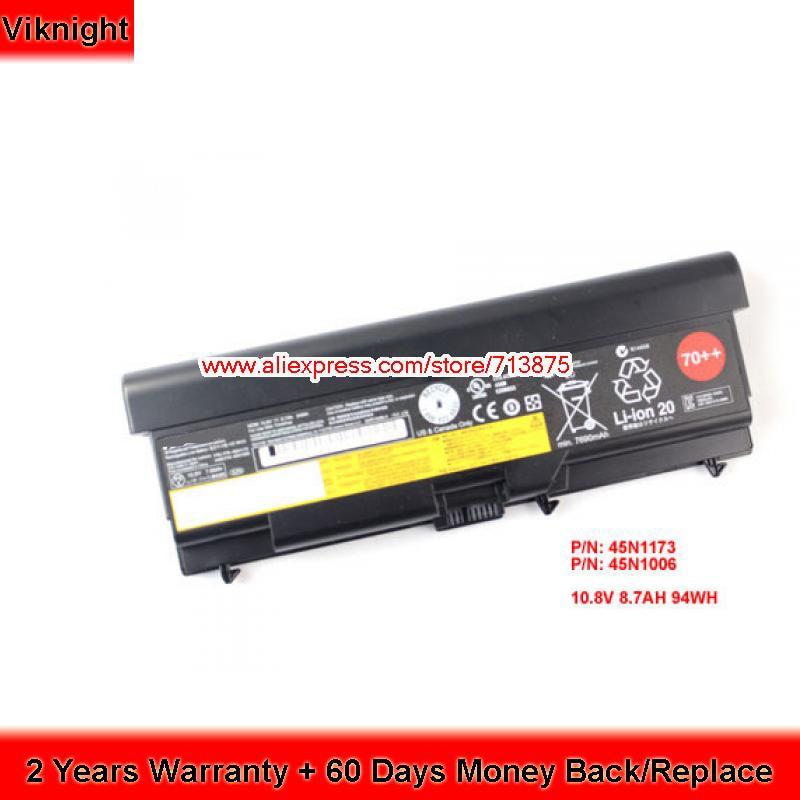 45N1173 45N1006 Batterie pour Lenovo Thinkpad W530 T420 T530 L420 Batterie 45N1010 45N1011 45N1001 42T4799 42T4751 0A36303 E520