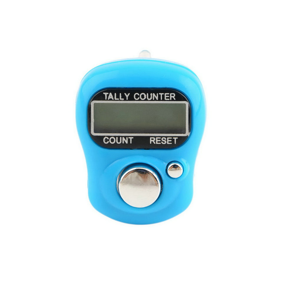 Plastic Compact Mini Stitch Marker And Row Finger Counter LCD Electronic Digital Tally Counter Random for Any Knitter in Sewing Tools Accessory from Home Garden