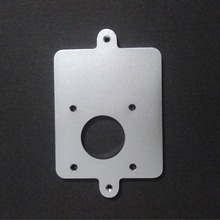 3D printer extruder feeder metal mounting plate for Ultimaker 2+ um2 extended free shipping