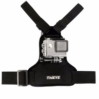 ThiEYE Universal Adjustable Chest Strap DV Mount Band Belt Fix Accessories Support Tripod For ThiEYE Sports