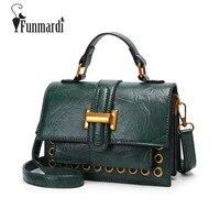 FUNMARDI Classic Star Style Trendy Cross Body Bag Fashion Simple Design Shoulder Bag High Quality Bag