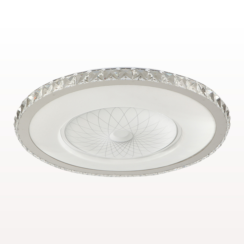 Modern Circular Creative Ceiling Light Simple Crystal Lamp For Home Living room Bedroom Restaurant With LED Bulbs DHL Free