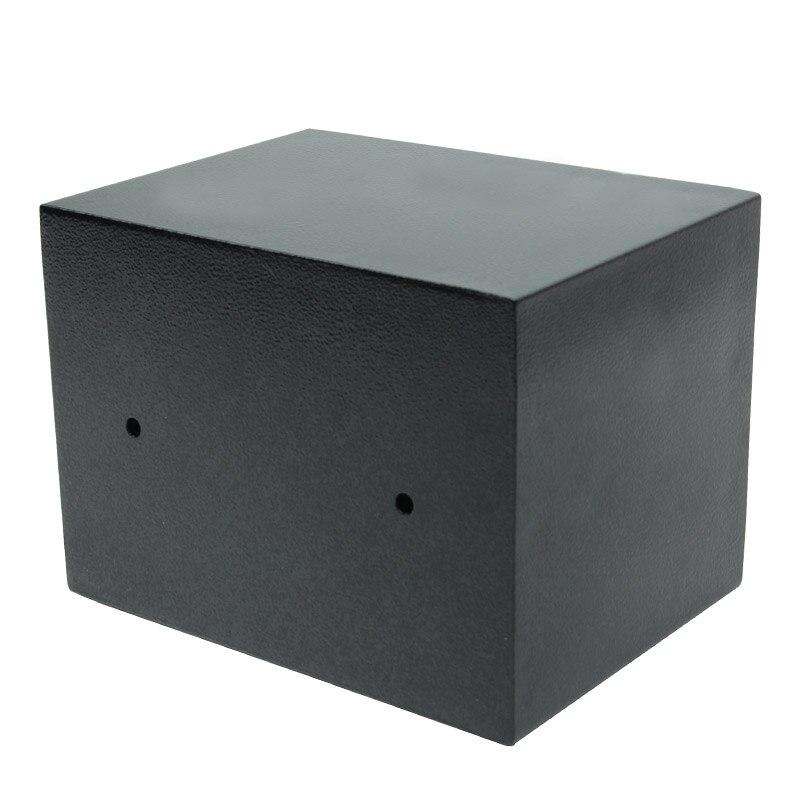 Coffre-fort numérique petit ménage Mini coffres-forts en acier tirelire coffre-fort de sécurité garder les bijoux en argent ou le Document en toute sécurité avec la clé - 4