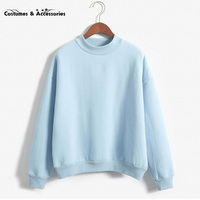 Women Hoodies Casual Sports Sweatshirt Pullover Candy Coat Jacket Outwear Tops