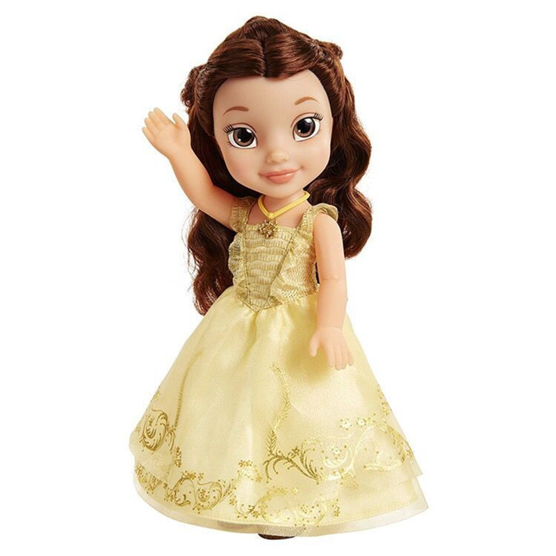 1pieces/lot 40cm big pvc edition princess belle doll Joints can move furnishing articles Girls toys