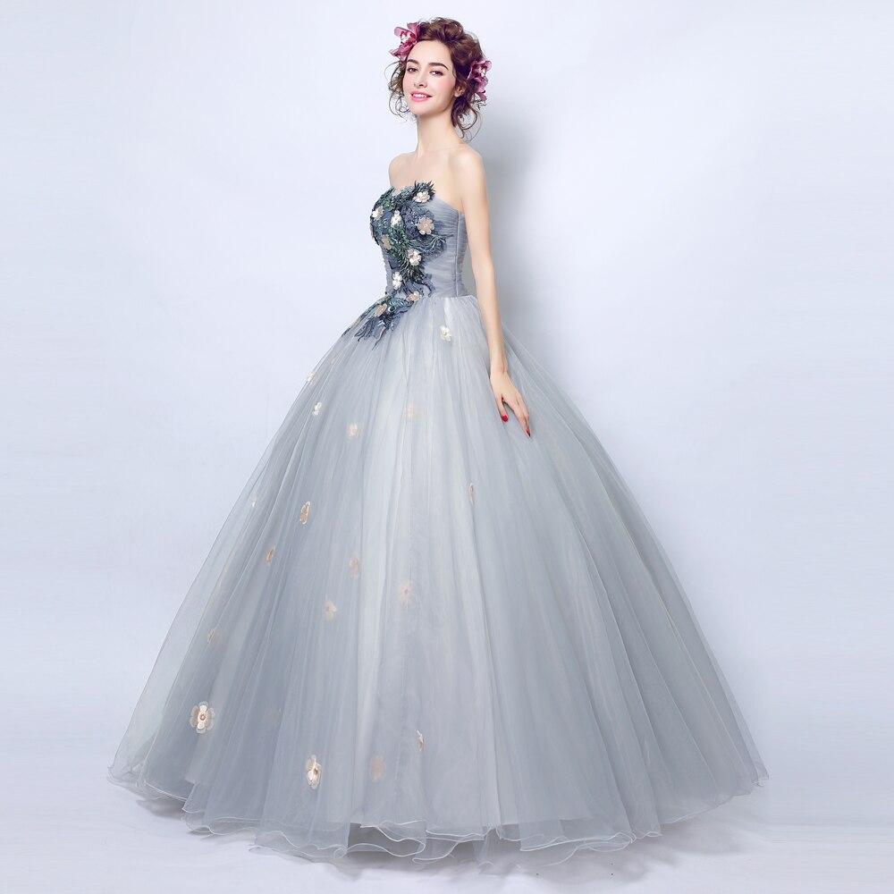 Angel Wedding Dress Marriage Bride Bridal Gown Vestido De Noiva 2017 ...