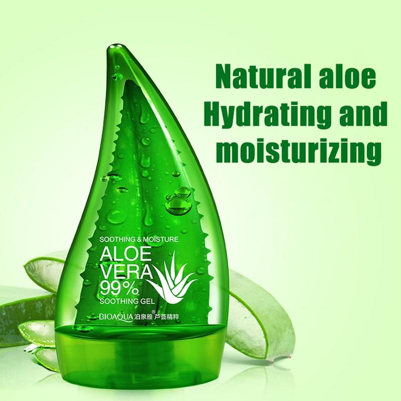 produs korea hotsale natural aloe vera gel acne treatment moisturizing skin whitening scar. Black Bedroom Furniture Sets. Home Design Ideas