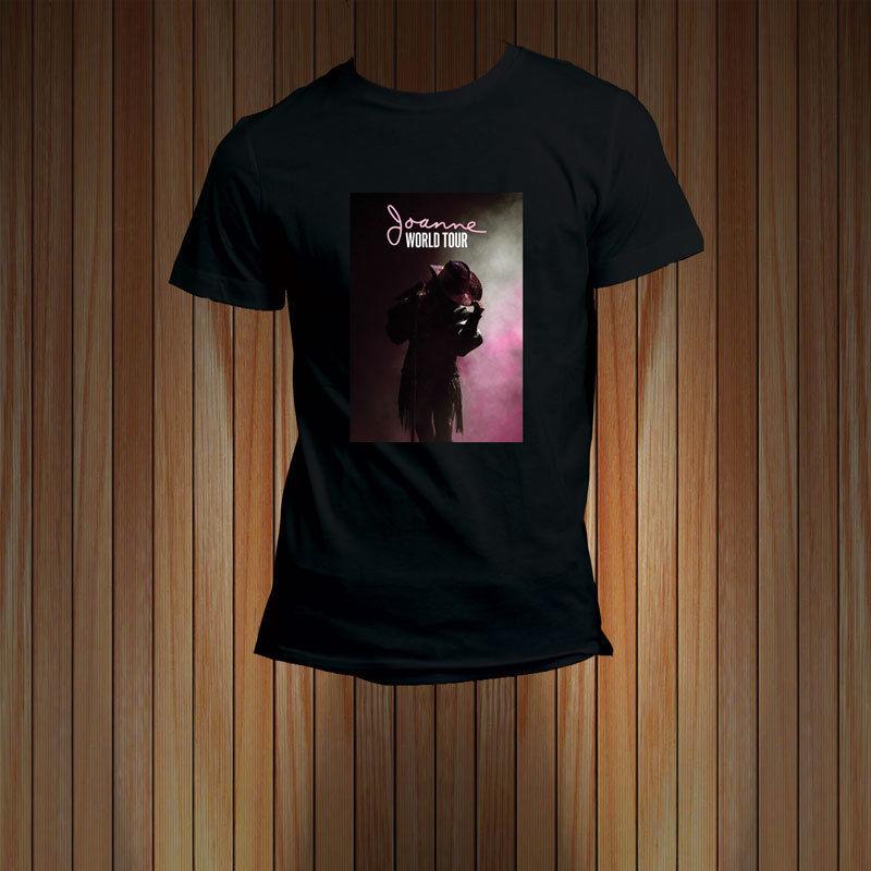 Lady Gaga JOANNE Tour Dates 2017 T-Shirt Mens Tee