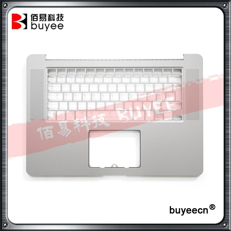 Original New A1398 Palmrest English Verision 2012 For Macbook Pro Retina 15'' A1398 Upper Top Case Cover UK Layout Replacement original new laptop a1708 palm rest repair for macbook retina pro top housing case cover us layout 13 inch 2016 year replacement